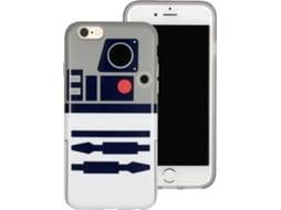 Capa TRIBE Star Wars R2-D2 iPhone 6, 6s, 7, 8 — Compatibilidade: iPhone 6, 6s, 7, 8