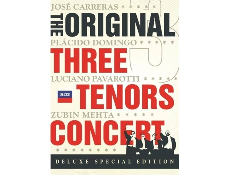 CD Three Tenors - The Original Concert — Clássica