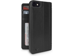 CAPA TWELVE SOUTH JOURNAL IPH8/7 PRETO — Compatibilidade: iPhone 7