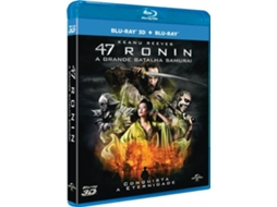 Blu-Ray 47 Ronin - A Grande Batalha Samurai + 3D — De: Shane Black | Com: Robert Downey Jr., Gwyneth Paltrow, Don Cheadle, Guy Pearce