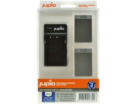 Kit 2 Baterias JUPIO PS-BLS5/PS-BLS50 — 1210 mAh