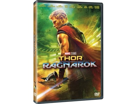 DVD Thor Ragnarok — De: Taika Waititi / Com: Chris Hemsworth,  Tom Hiddleston,  Cate Blanchett