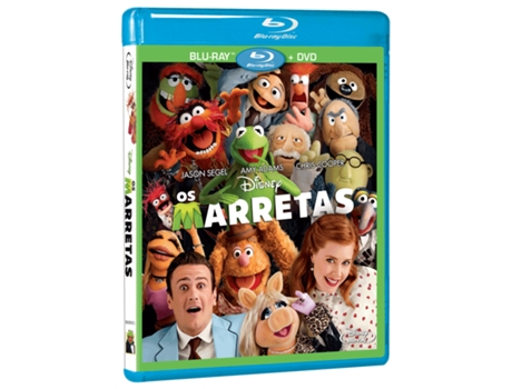 Blu-Ray + DVD Os Marretas — De: James Bobin | Com: Amy Adams,Jason Segel,Chris Cooper,Zach Galifianakis,Alan Arkin