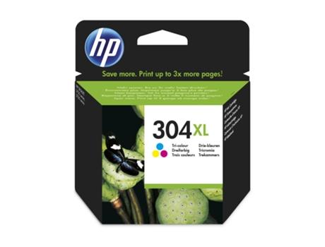 Tinteiro HP 304XL Tricolor (N9K07AE) | [5873627 ]