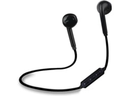 Auriculares MYWAY Wireless Preto — Bluetooth