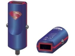 Carregador Auto TRIBE 2.4A Dc Comics Superman — Carregador Auto | USB