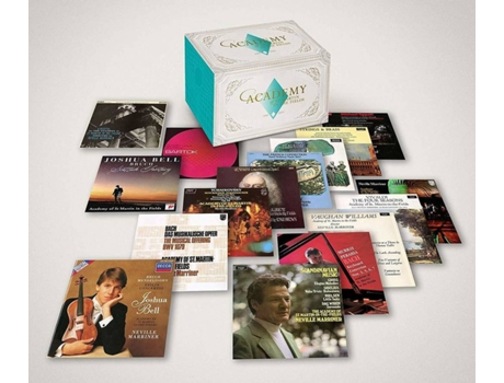 UNIVERSAL-MUSIC - CD60 Academy Of St. Martin In The Fields (60 CDs - Edição)