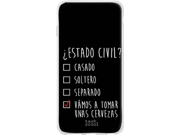 Capa Realme 3 Pro TECHCOOL Estado Civil Preto