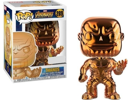 Figura FUNKO Pop! Marvel Infinity War Thanos Gold