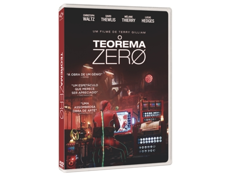 DVD O Teorema Zero — De: Terry Gilliam | Com: Christoph Waltz,Matt Damon,Tilda Swinton,Mélanie Thierry,David Thewlis