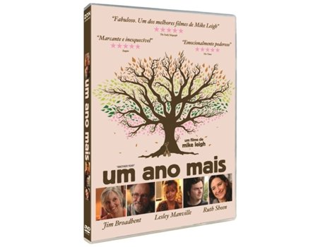 DVD Um Ano Mais — De: Mike Leigh | Com: Jim Broadbent,Lesley Manville,Ruth Sheen,Imelda Staunton,Peter Wight