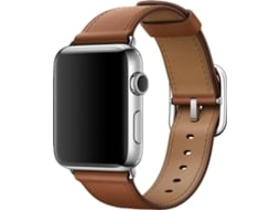 Bracelete  APPLE Watch Saddle Brown Cl Buckle — 42mm | Smartwatch não incluído