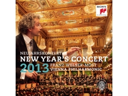 CD Vienna Philarmonic and Franz Welser - Most New Years Concert 2013 / neujahrskonzert — Clássica