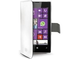 67459dffe2fc5 Capa CELLY WALLY321WH Nokia Lumia 520 Branco   Worten.pt