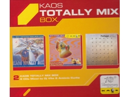 CD Vários-Totally Kaos Mix Box — House / Electrónica