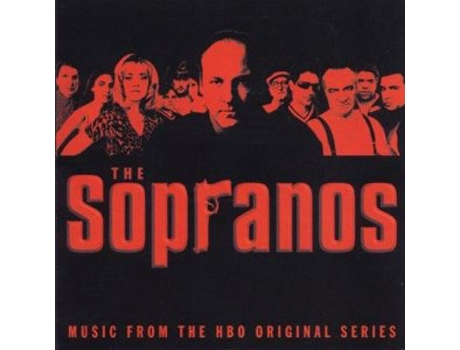CD Ost-Banda Sonora - The Sopranos — Banda Sonora