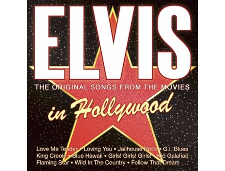CD Elvis - Elvis In Hollywood - The Original Songs From The Movies