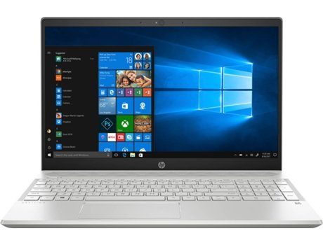 Portátil HP 15-CS1009NP (15.6'' - Intel Core i7-8565U - RAM: 8 GB - 256 GB SSD - NVIDIA GeForce MX150) — Windows 10 Home | Full HD