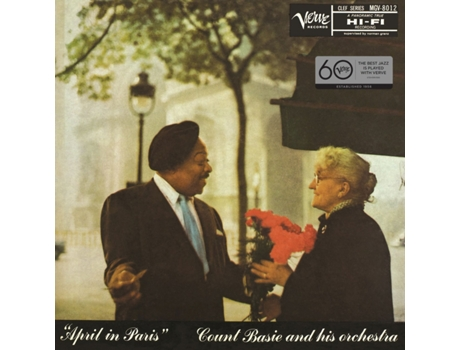 Vinil Count Basie - April In Paris — Jazz