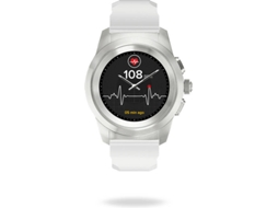 Smartwatch MY KRONOZ ZeTime Petite Branco — Bluetooth | 180 mAh | Android e iOS
