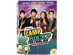 DVD Camp Rock 2: The Final Jam — De: Paul Hoen | Com: Demi Lovato, Joe Jonas, Nick Jonas