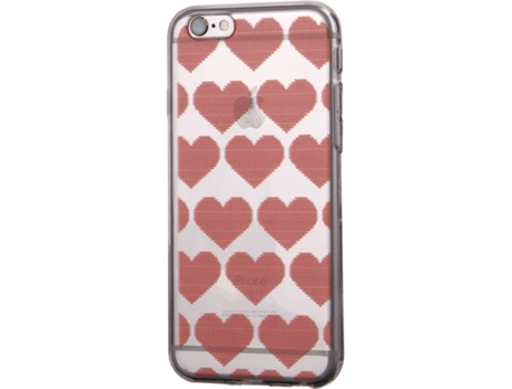 Capa KUNFT Christmas Hearts iPhone 5, 5s, SE — Compatibilidade: iPhone 5, 5s, SE