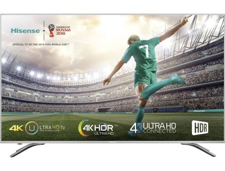 TV LED 4K Ultra HD 43'' HISENSE 43A6500 — 4K Ultra HD| 43''| B