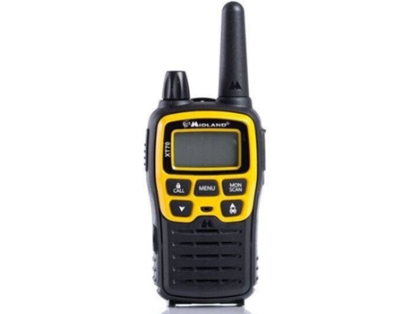 Walkie-Talkie MIDLAND XT70 Adventure — 3h conversação