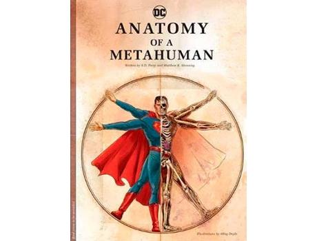 Marca do fabricante - Livro Dc Comics: Anatomy Of A Metahuman de S. D. Perry