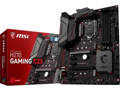 Motherboard MSI H270 GAMING M3 kabylake — LGA1151 / Intel® H270