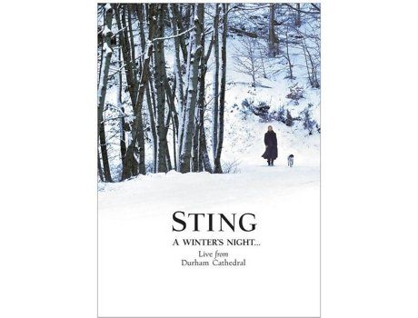 DVD Sting - A Winters Night Live From Durham — Pop-Rock