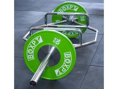 BOXPT - Barra Hexagonal BOXPT (Prateado - 40kg)
