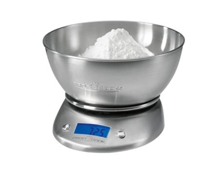 Balança de Cozinha PROFICOOK Proficook KW 1040 (Capacidade: 5 Kg - Precisão: 1 g) | [5308825 ]