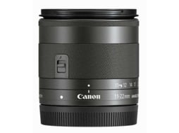 Objetiva CANON EF-M 11-22MM IS STM — Abertura: f/4-5.6
