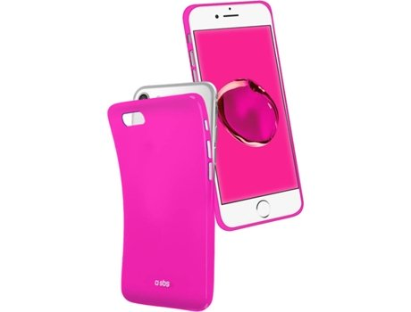 Capa SBS Cool iPhone 6, 6s, 7, 8 Rosa — Compatibilidade: iPhone 6, 6s, 7, 8