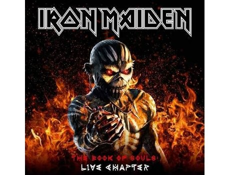 Vinil LP Iron Maiden - The Book of Souls: Live Chapter — Metal/Hard