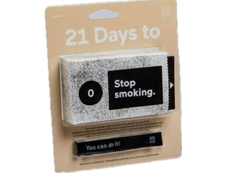Bloco DOIY 21 Days to Stop Smoking — Bloco de Notas