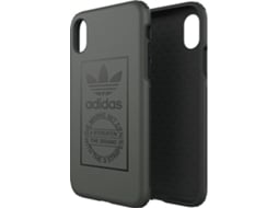 Capa ADIDAS Dual Seasonal iPhone X, XS Preto — Compatibilidade: iPhone X, XS