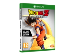 Jogo Xbox One Dragon Ball Project Z - Kakarot - Deluxe Edition (Luta - M16)