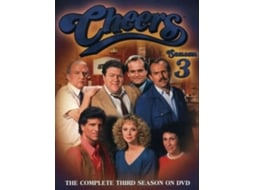 DVD Cheers - Temporada 3 — De: Glen Charles, Les Charles | Com: Ted Danson,  Shelley Long