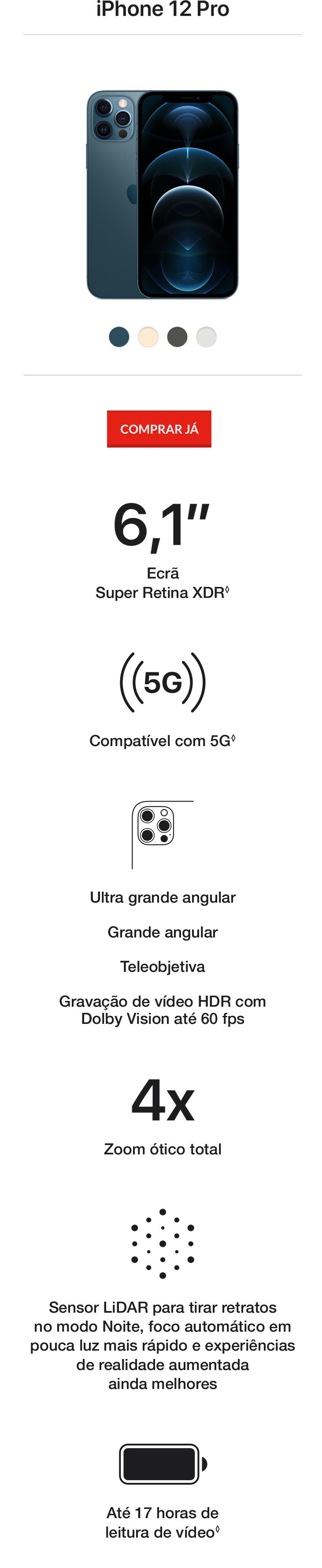 iPhone 12 e iPhone 12 Mini Encontre o iPhone ideal
