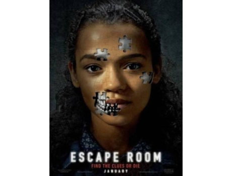 Blu-Ray Escape Room (De: Adam Robitel - 2019) (capa provisória)