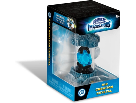 Figura Skylanders Imaginators - Air Creation Crystal — Coleção: Skylanders Imaginators