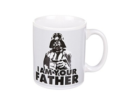 "Caneca INSANIA Vader ""I Am Your Father"" Star Wars"
