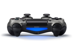 Comando SONY PS4 Dualshock Steel Black — PS4