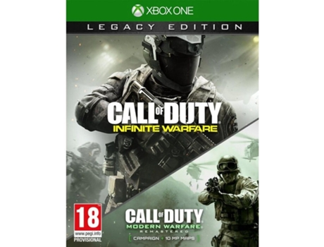 Jogo Xbox One Call of Duty - Infinite Warfare Legacy Edition — FPS / Idade mínima recomendada: 18