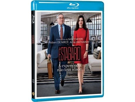 Blu-Ray O Estagiário — De: Nancy Meyers  | Com:  Robert De Niro, Anne Hathaway