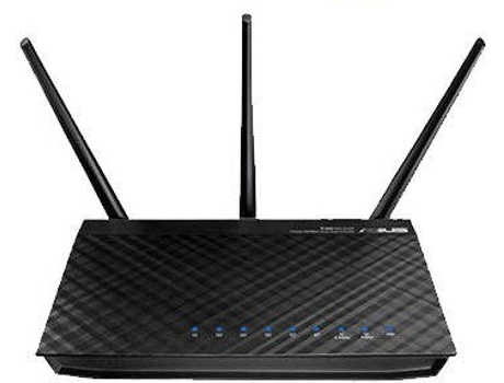 Router ASUS RT-N66U AC900 Dual-Band — Dual-Band