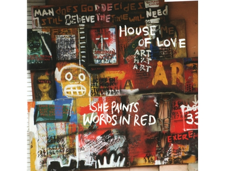 CD House Of Love - She Paints Words In Red