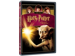 DVD Harry Potter e a Câmara dos Segredos + Manga — De: Chris Columbus | Com: Harry Potter,Ron Weasley,Emma Watson,Richard Griffiths,Fiona Shaw